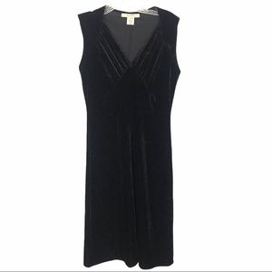 Free People Sz Sm Crushed Velvet Dress